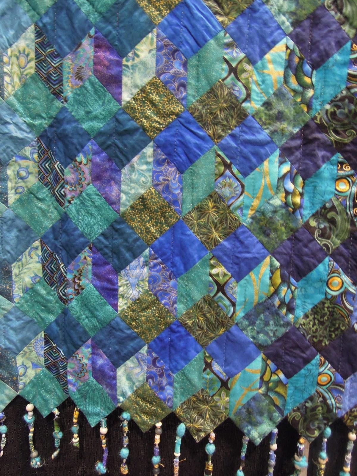 Tumbling Blocks revisited ! | Quilt Inspiration | Bloglovin\'
