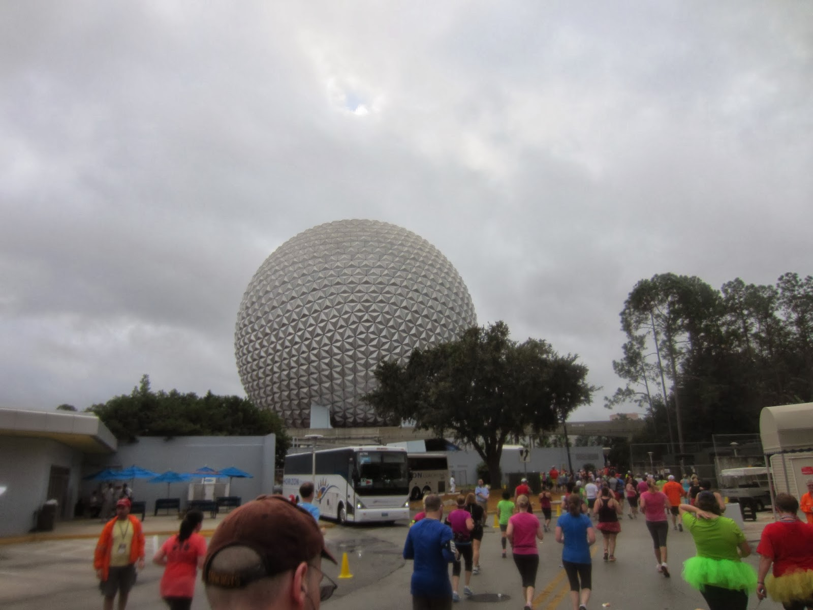 Running into EPCOT