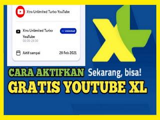 Paket internet XL unlimited youtube