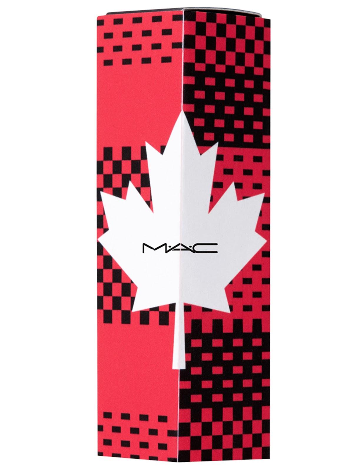 mac cosmetics canada day 150 lipstick