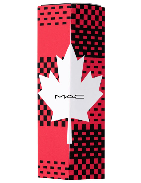 mac cosmetics canada day 150 lipstick