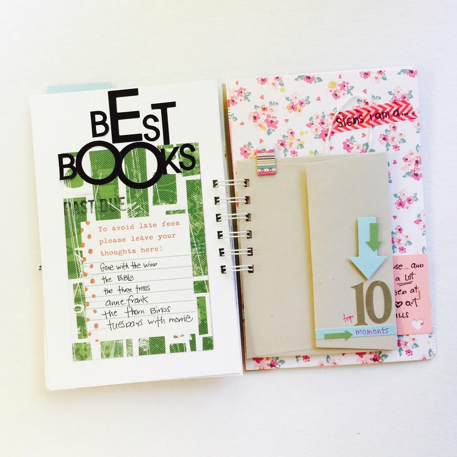 #lists #books #listersgottalist #minialbum #top10 #10 #envelope #washitape