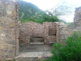 Ruins at Bhangarh Fort