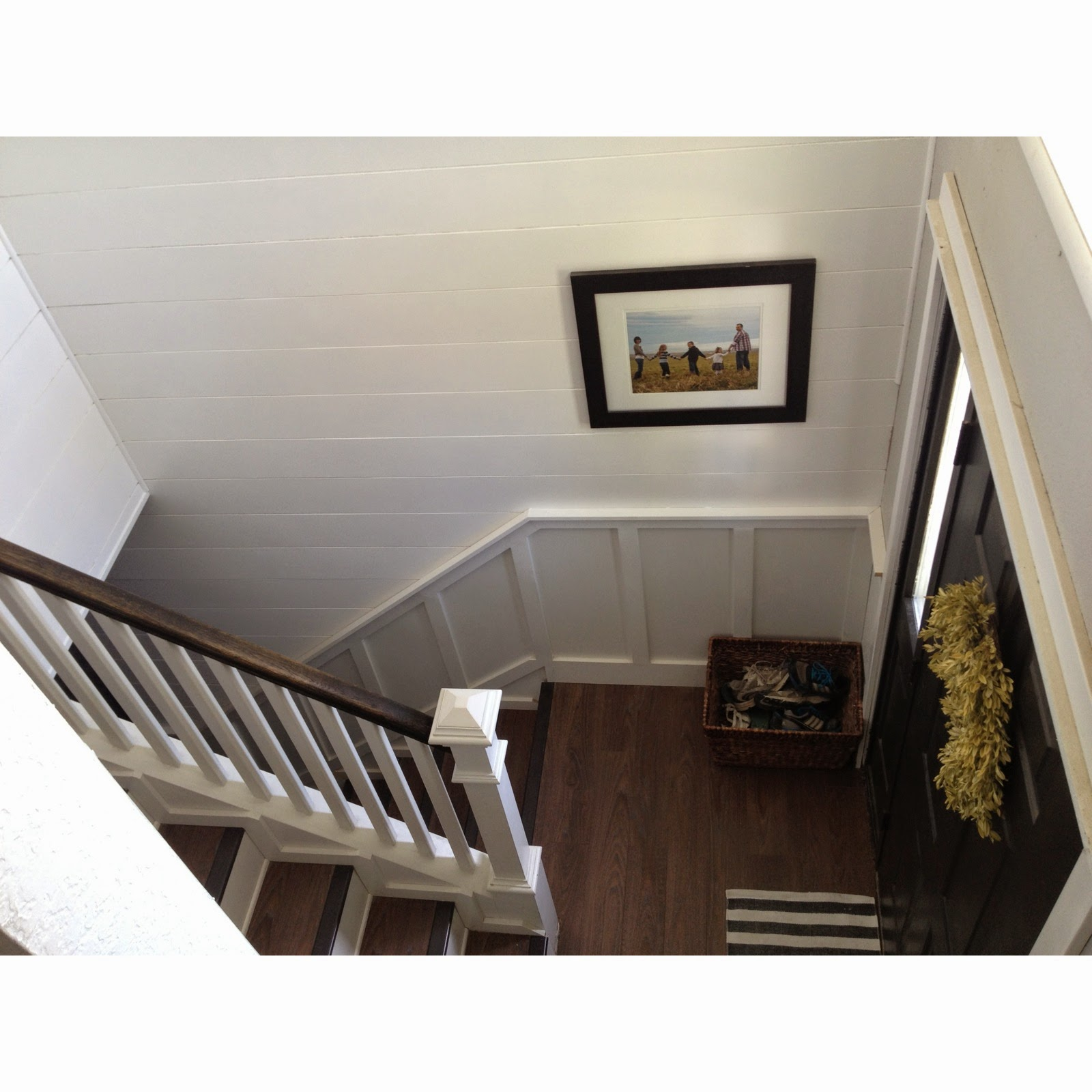 Keep Home Simple: A New Plank Wall in the Entry Way
