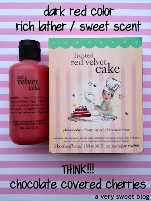 Philosophy Red Velvet Cake  In
