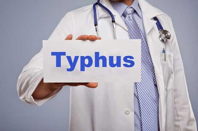 Gejala dan penyebab penyakit tipes