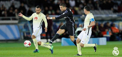 Real Madrid vence la América