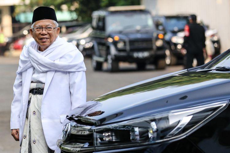 Gak Nyangka! Begini Sambutan Masyarakat Aceh kepada KH Ma'ruf Amin