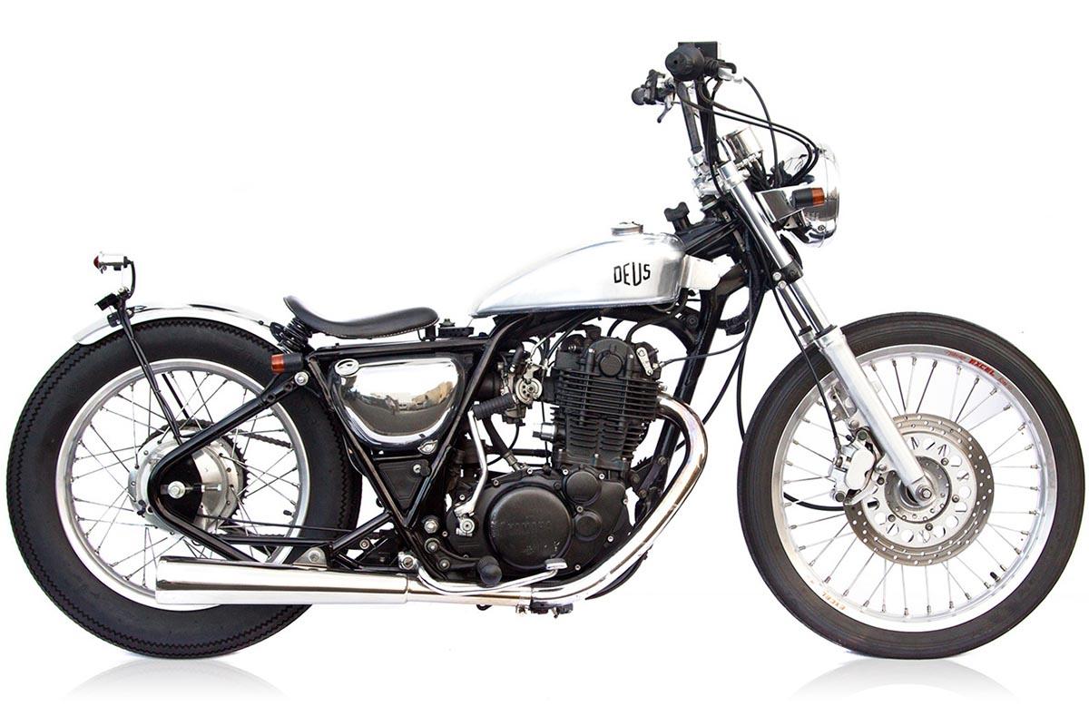 Yamaha SR400 Custom Classic Vintage Deus