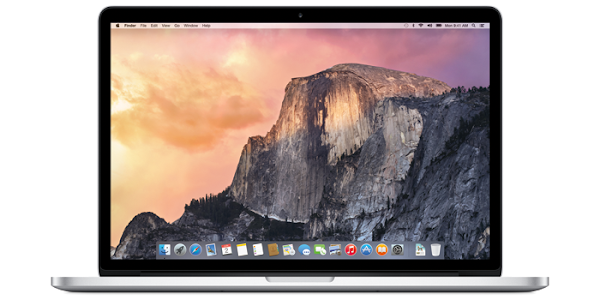 Apple Mac OS X (10.10) Yosemite on MacBook Pro
