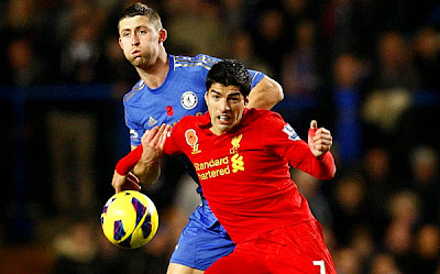 Chelsea vs Liverpool en Vivo - Luis Suárez