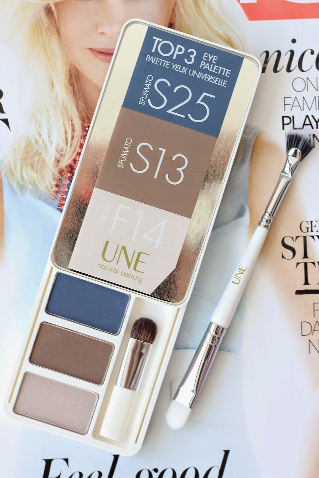 UNE Top 3 Eye Palette Denim Collection