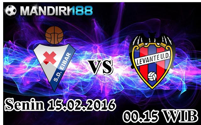 AGEN BOLA - Prediksi Eibar vs Levante 15 Februari 2016