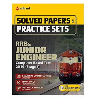 Arihant JE Solved Paper & Practice Sets 2019