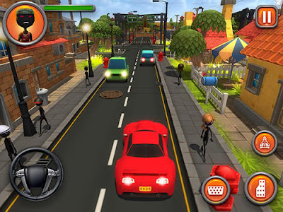 Shadow Gangster War MOD APK v1.2 Original Version for Android Terbaru Juni 2017