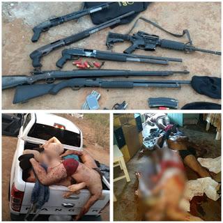 Onze suspeitos de assalto a banco em PE são mortos em operação policial em Alagoas