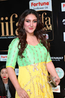 Sridevi Telugu Actressi in green Yellow Anarkali Dress at IIFA Utsavam Awards 014.JPG