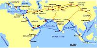 peta jalur perdagangan