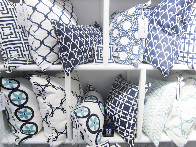 COCOCOZY pillows at the New York International Gift Fair
