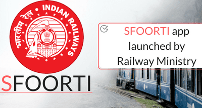 SFOORTI app launched by Railway Ministry