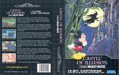 Castle of Illusion de Megadrive