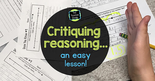 Critique the Reasoning of Others...In a 5 minute lesson!