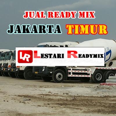 JUAL BETON READY MIX JAKARTA TIMUR