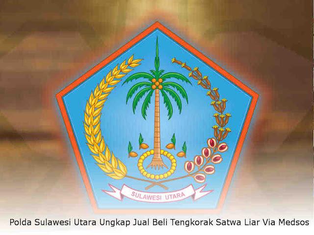 Polda Sulawesi Utara Ungkap Jual Beli Tengkorak Satwa Liar Via Medsos