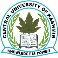 Central University of Kashmir Recruitment 2017, www.cukashmir.ac.in