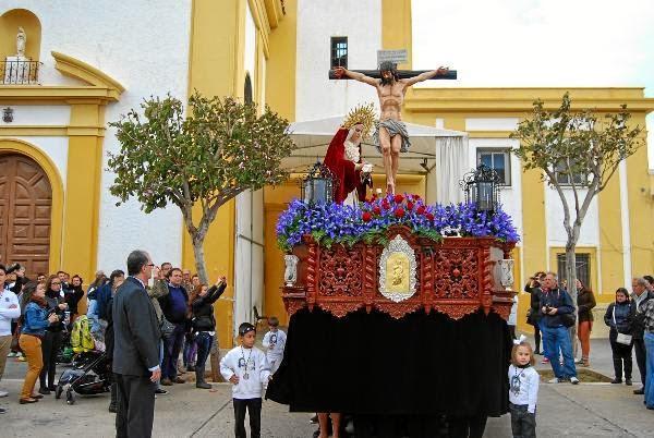 Horarios e Itinerarios Sábado de Pasión Semana Santa Almería 2019