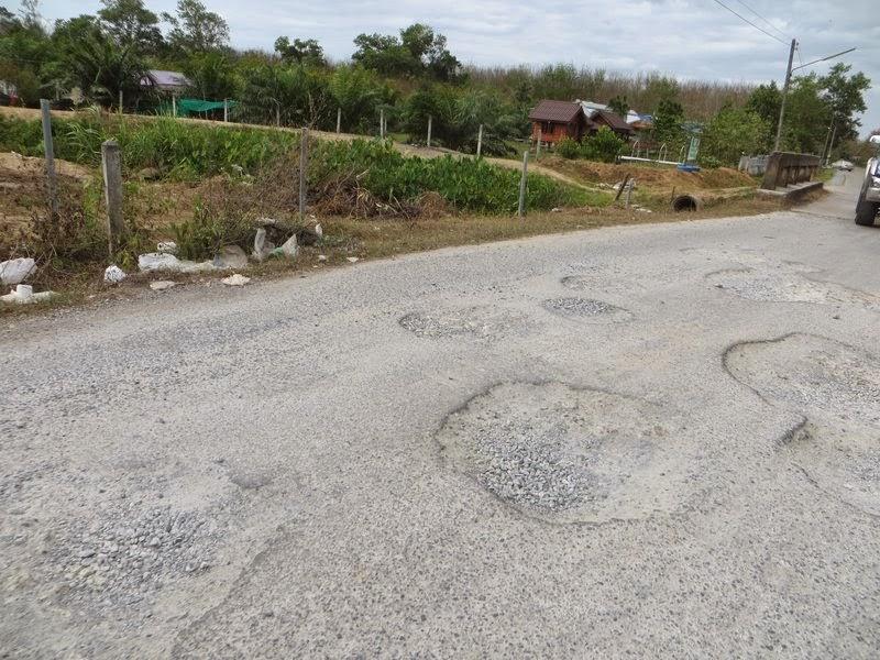 плохая дорога Таиланд