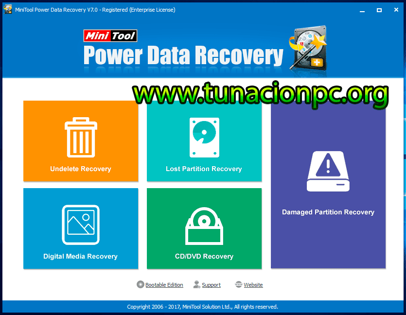 MiniTool Power Data Recovery Imagen