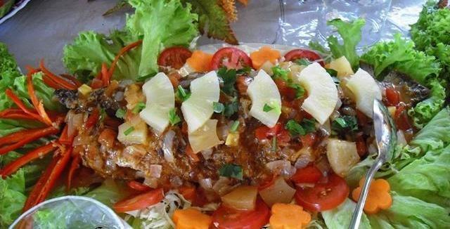 resepi ikan siakap tiga rasa thai soalan mudah Resepi Ikan Putih Masak Tiga Rasa Enak dan Mudah