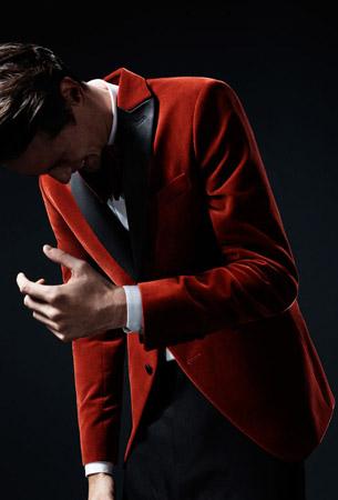 blazer terciopelo Zara Man