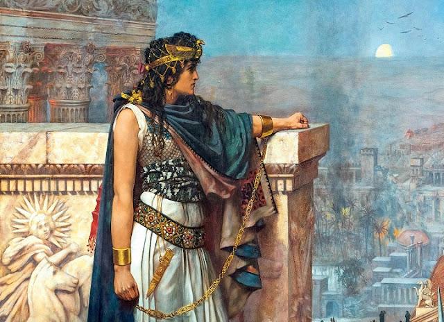 الملكة زنوبيا تدمر سوريا دمشق نساء أنثى سينوغرافيا تاريخ