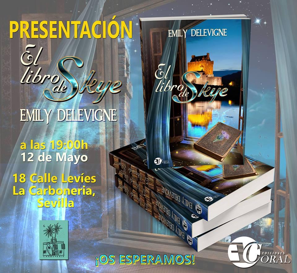 Presentación de Emily Delevigne en Sevilla