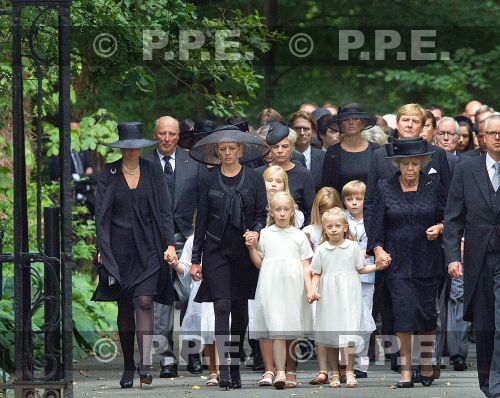 Funeral of Prince Friso at the Stulpkerk in Lage Vuursche