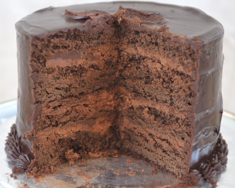 Dense Chocolate Box Cake Recipe