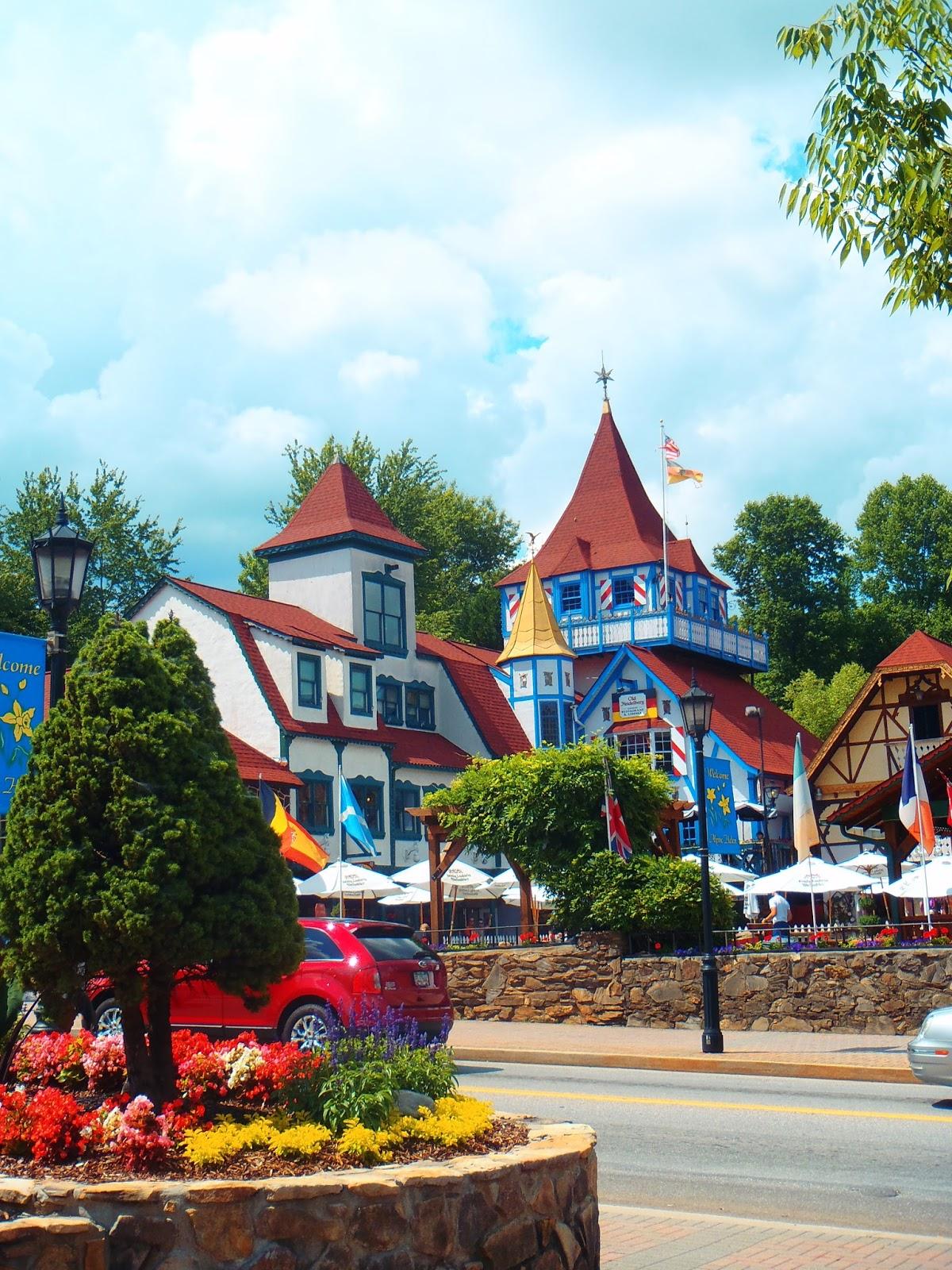 Adventures in the German themed village of Helen, Georgia