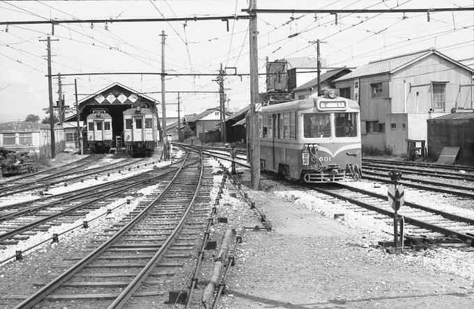 地方私鉄 1960年代の回想: 土佐電 安芸線