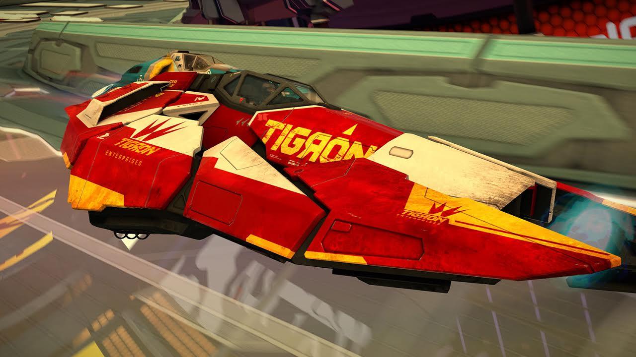 WipEout Omega Collection nos presenta la nave Tigron K-VSR