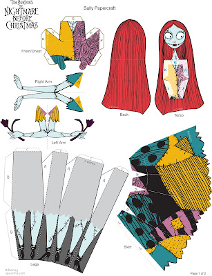 Sally paper craft