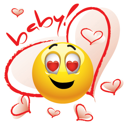 Emoticon Baby Love