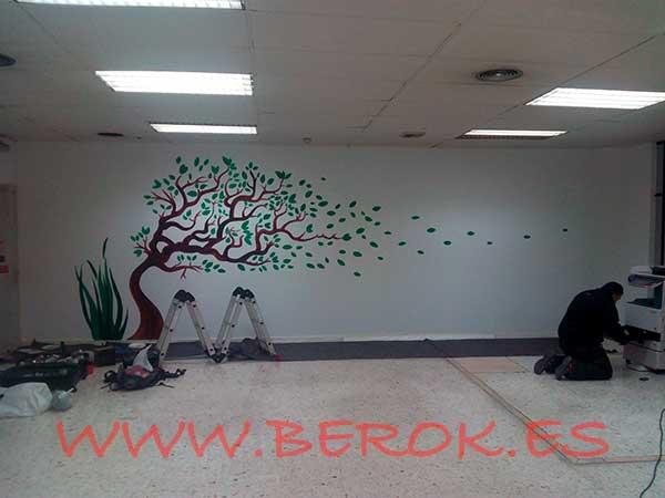 árboles para murales