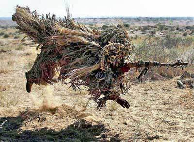 Indian Army's Flying Snipers During Exercise Sudarshan ...