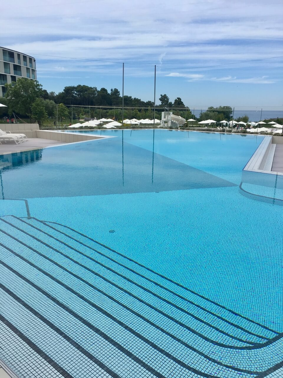 Outdoor Pool Family Hotel Amarin in Rovinj, Kroatien