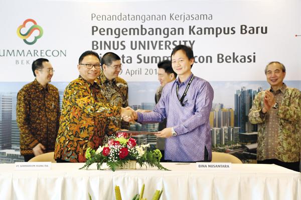 BINUS University di Summarecon Bekasi