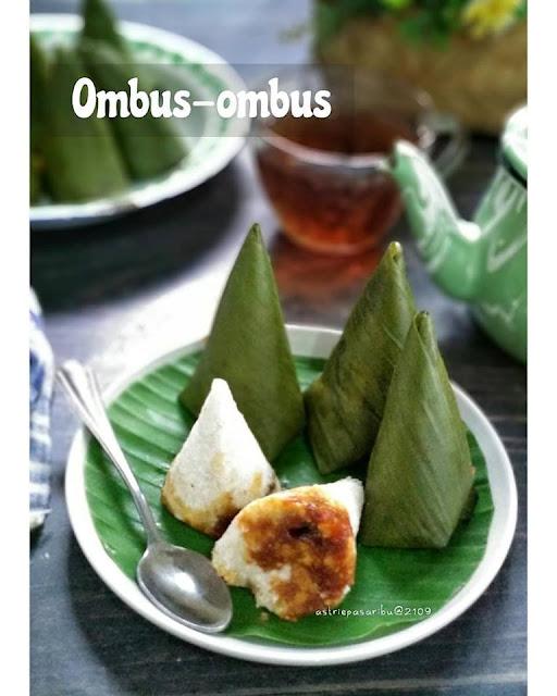 Jajanan Pasar: Ombus - Ombus