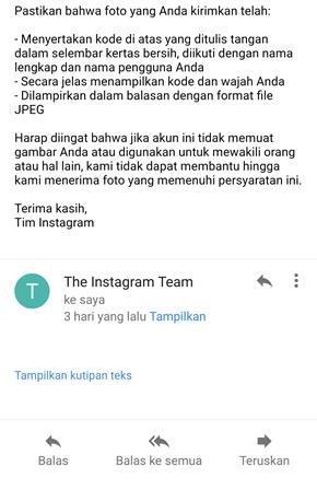 Cara Mengembalikan Akun Instagram Yang Di Banned Blokir