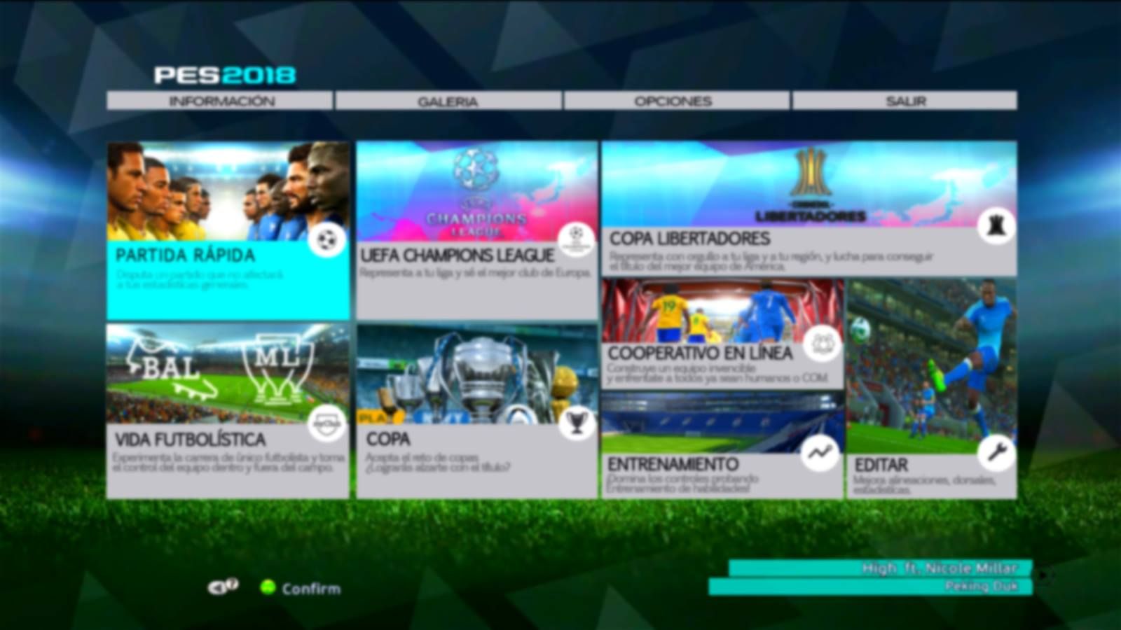 PES 2013 GRAPHIC MENU 2018 MADE BY ANFDESIGNER
